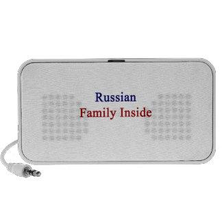 Russian Family Inside Notebook Speaker