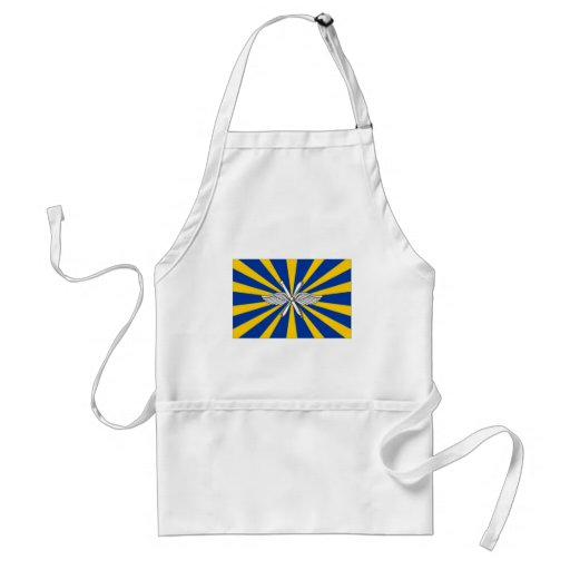 Russian Federation Air Force Flag Apron