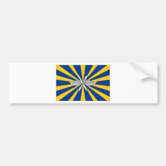 Russian Federation Air Force Flag Bumper Sticker