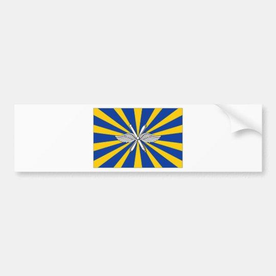 Russian Federation Air Force Flag Bumper Sticker