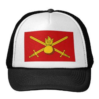 Russian Federation Army Flag Mesh Hats