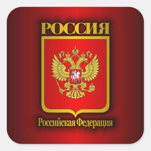 Russian Federation COA Stickers