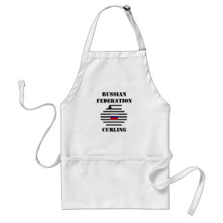 Russian Federation Curling Standard Apron
