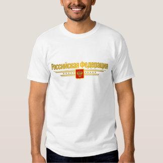 Russian Federation Flag & Emblem Tshirts