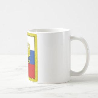 Russian Federation President Flag Coffee Mugs