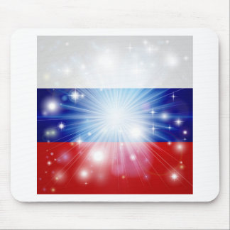 Russian flag background mousemats