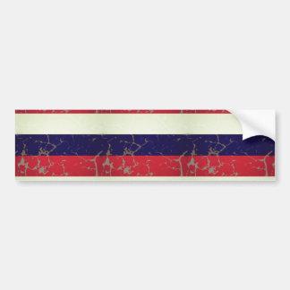 Russian Flag Bumper Sticker