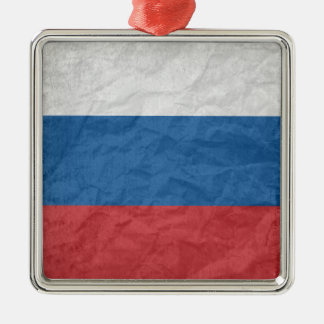 Russian Flag Christmas Ornament