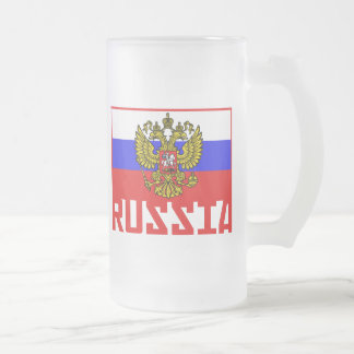 Russian Flag Coffee Mugs