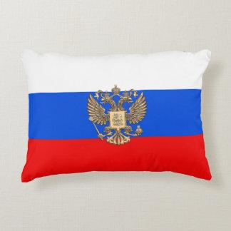 Russian flag decorative cushion
