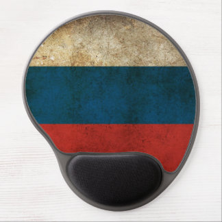 Russian Flag Gel Mouse Pad