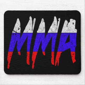 Russian Flag MMA Mousepad