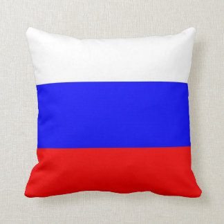 Russian Flag on American MoJo Pillow