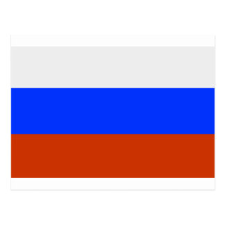 Russian Flag Postcard