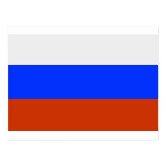 Russian Flag Postcard