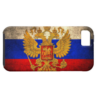 Russian Flag Tough iPhone 5 Case