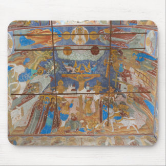Russian frescoes mouse pad