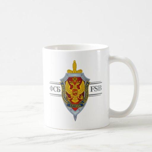 Russian FSB Coffee Mugs