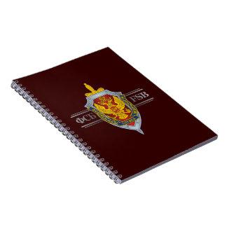 Russian FSB Spiral Notebook