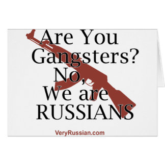 Russian Gangsters Брат 2 Card