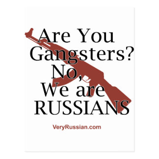 Russian Gangsters Брат 2 Postcard