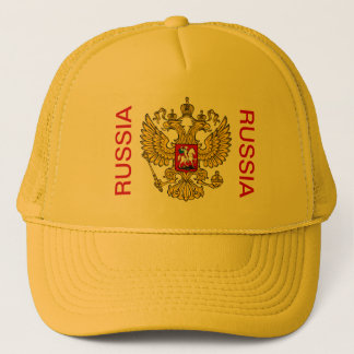 RUSSIAN GERB TRUCKER HAT