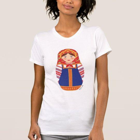 Russian Girl Matryoshka Women's T-Shirt