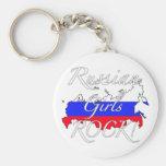 Russian Girls Rock! Key Chain