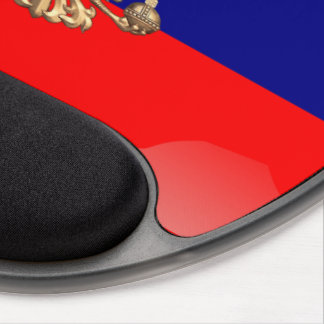 Russian glossy flag gel mouse mat