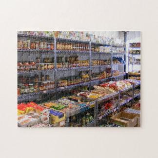Russian Grocery Jars Jigsaw Jigsaw Puzzle