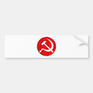 Russian Hammer and Sickle Bumper Sticker