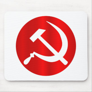 Russian Hammer and Sickle Mouse Pad