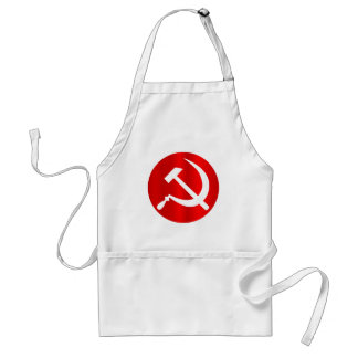 Russian Hammer and Sickle Standard Apron