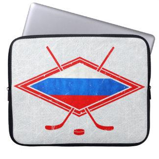 Russian Ice Hockey Laptop Sleeve
