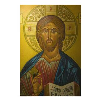 Russian Icon inside Church of St. Sophia / Photo Print