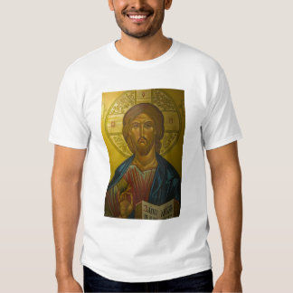 Russian Icon inside Church of St. Sophia / T-shirts