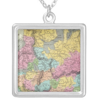 Russian In Europe Silver Plated Necklace