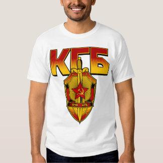 Russian KGB Badge Soviet Era T-shirts