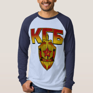 Russian KGB Badge Soviet Era Tee Shirts