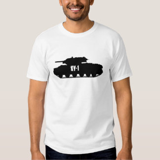 Russian KV-1 Tank Side Profile T-Shirt tee