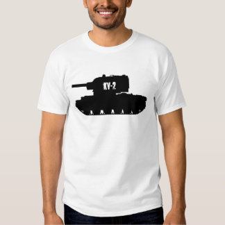 Russian KV-2 Tank, T-shirt tee