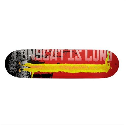 Russian longcat skate boards