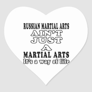 Russian Martial Arts Ain't Just A Martial Arts Stickers