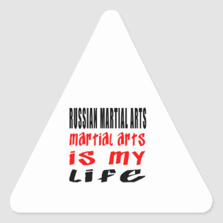 Russian Martial Arts is my life Sticker