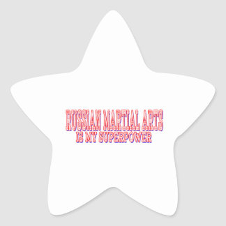 Russian Martial Arts is my superpower Stickers