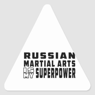 Russian Martial Arts is my superpower Sticker