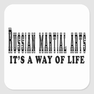 Russian Martial Arts It's way of life Stickers