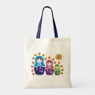 Russian Matryoshka Doll Bags