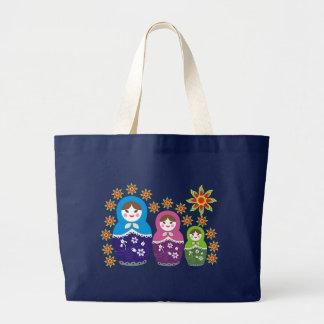Russian Matryoshka Doll Bags