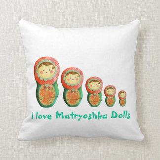 Russian Matryoshka Doll Cushion
